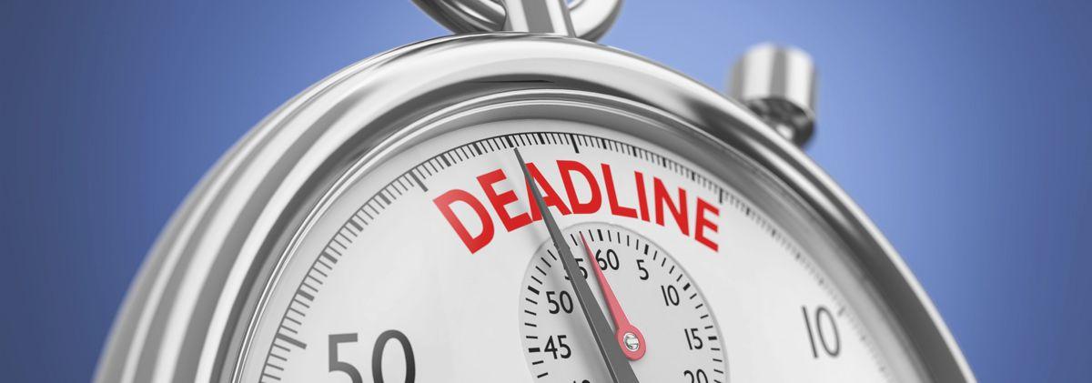 Deadline helpt bij plannen van een live video