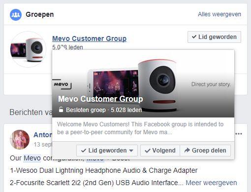 Facebook groep voor je klanten