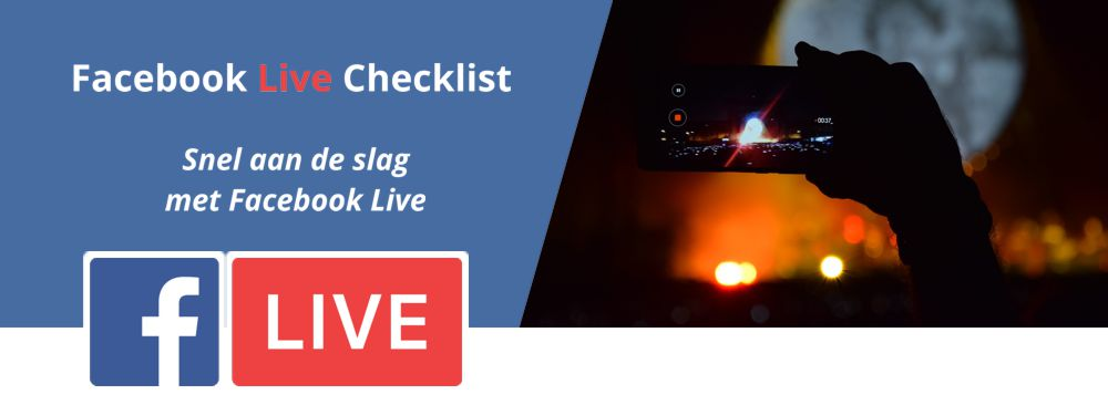 Facebook Live Checklist header