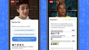 Facebook lanceert de poll finctie voor live video,