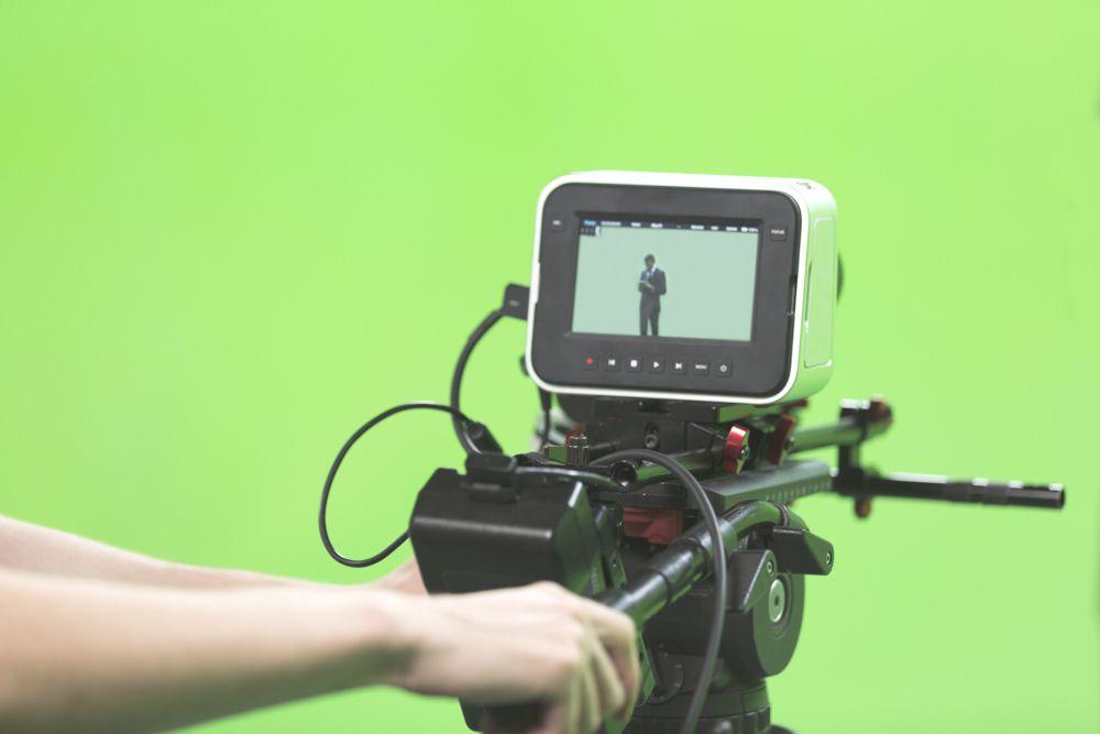 Green screen gebruiken voor live video