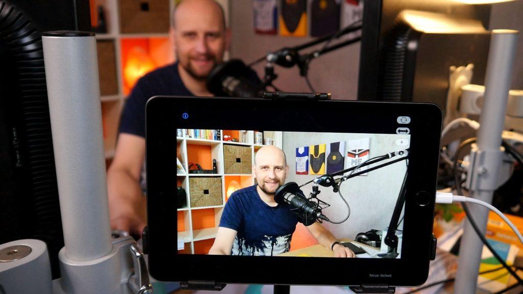 iPhone of, in dit geval. een iPad als webcam gebruiken is heel eenvoudig.