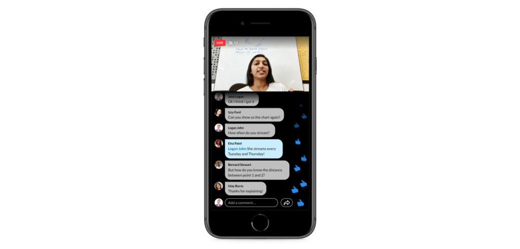 Vanaf je mobiel streamen naar LinkedIn Live.