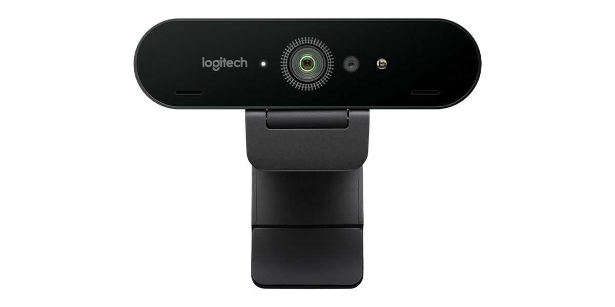 Logitech Brio 4K webcam.