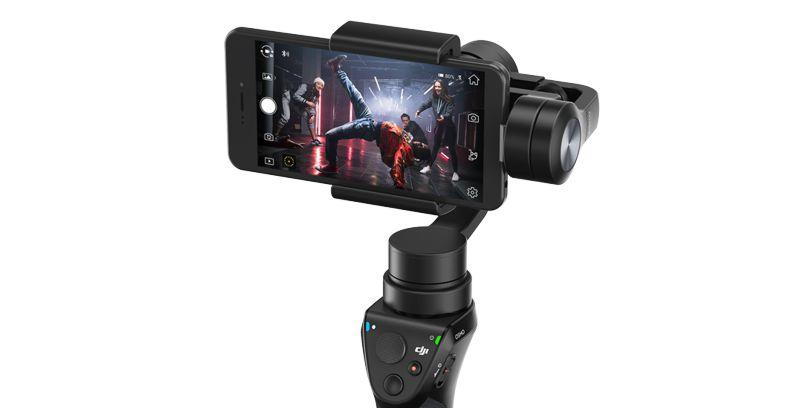DJI Osmo mobiel live streamen