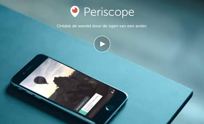 Periscope live video streaming