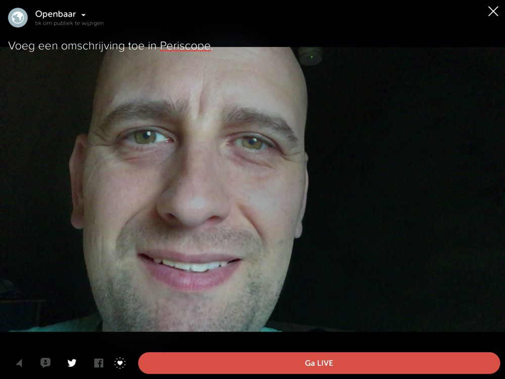 Periscope live video met je telefoon