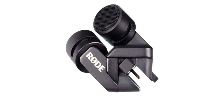 Rode iXY microfoon met lightning aansluiting.