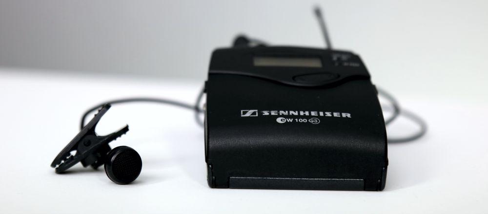 Sennheiser draadloze microfoon