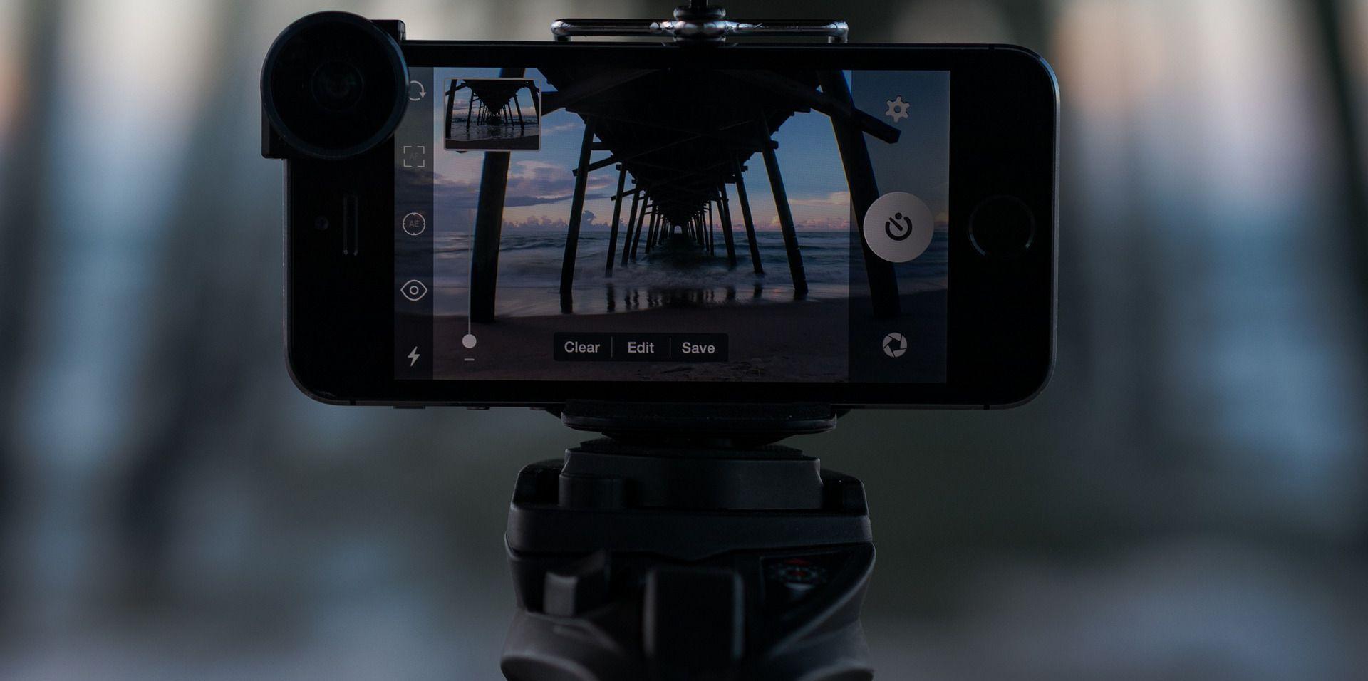 Smartphone uitbreiden met gear voor live video