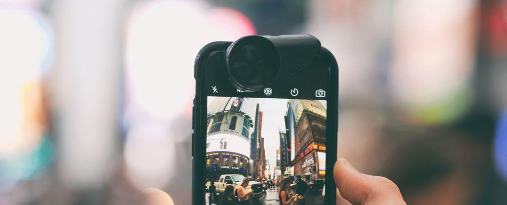 Smartphone lens toevoegen