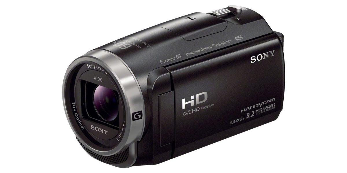 Sony HDR CX625 handycam voor live streamen.