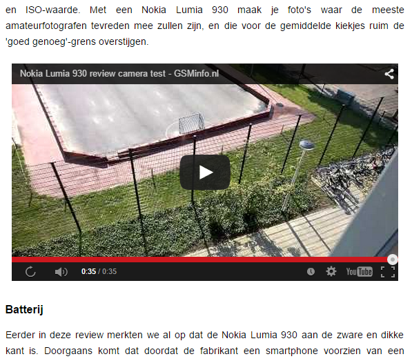 Embed YouTube video op een webpagina